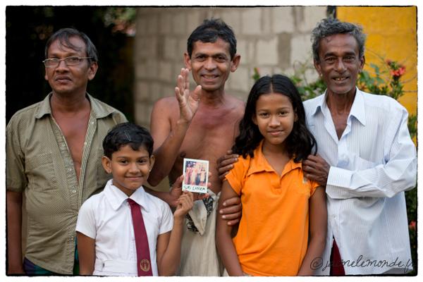 famille Sri Lankaise