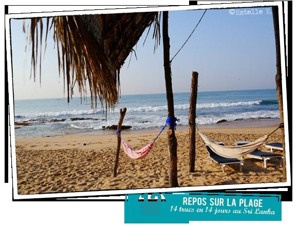 13 - Repos sur la plage
