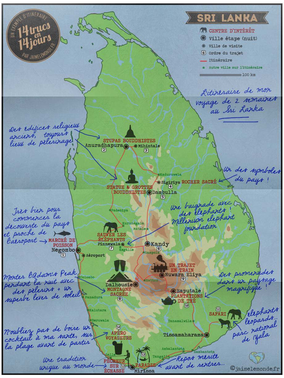 Planifier Votre Voyage Au Sri Lanka 14 Trucs En 14 Jours