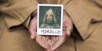 Une pola et mains maroc