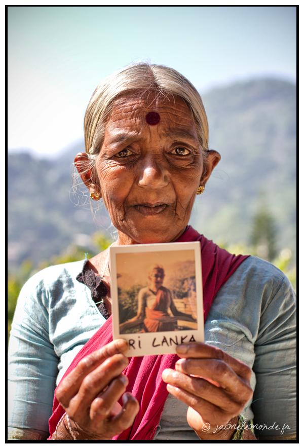 4 - grand mère - Sri Lanka