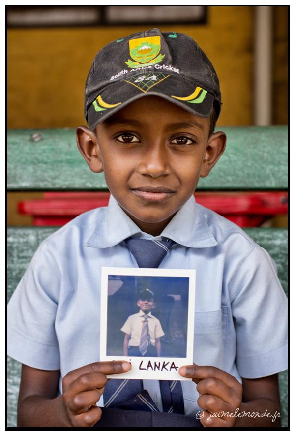 5 - écolier - Sri Lanka