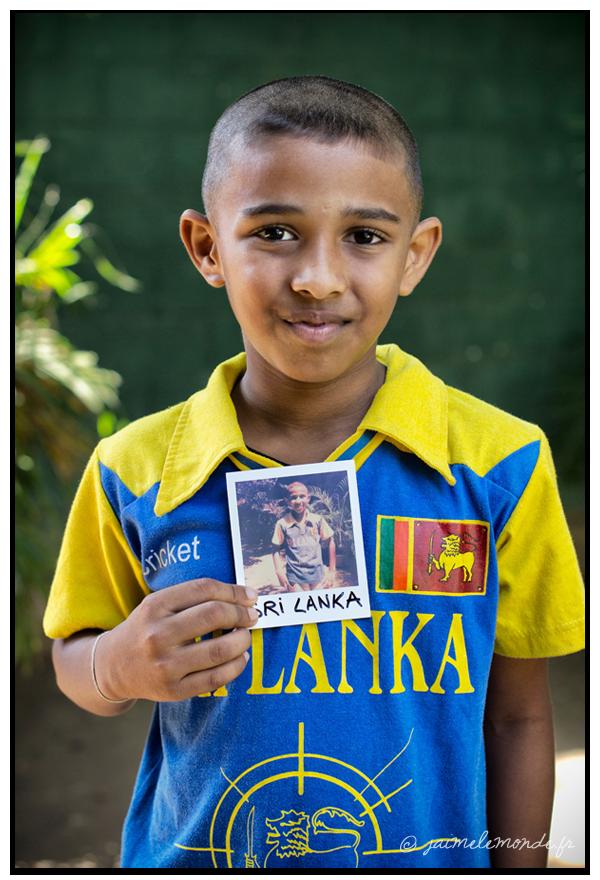 7 - fan de cricket - Sri Lanka