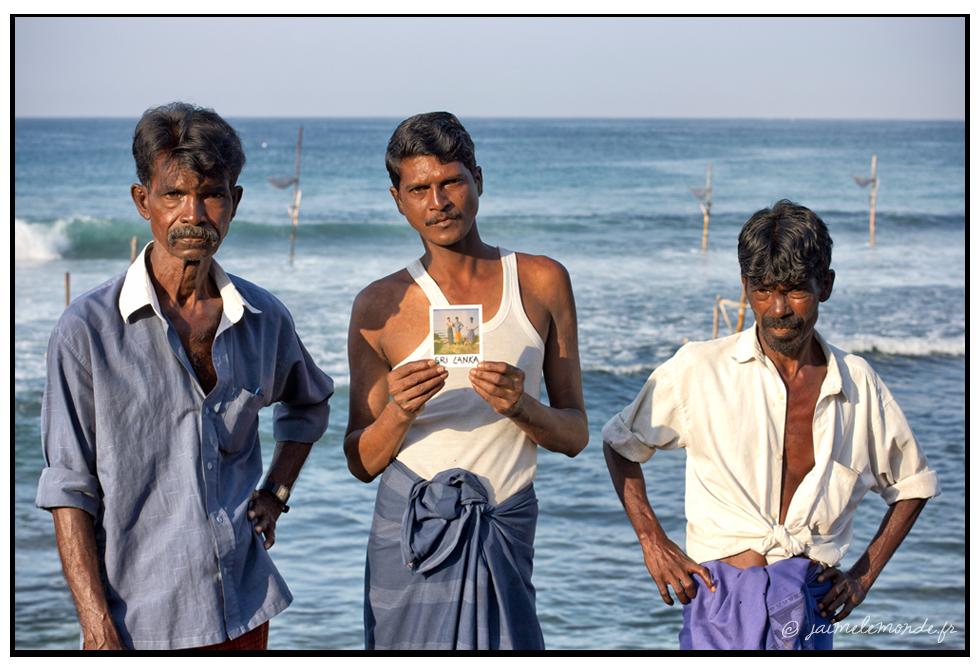 9 - pêcheurs sur échasses - Sri Lanka