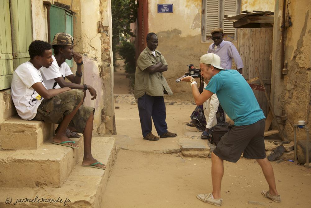 Senegal - Polaroid avec Feidou et 4LEUZ