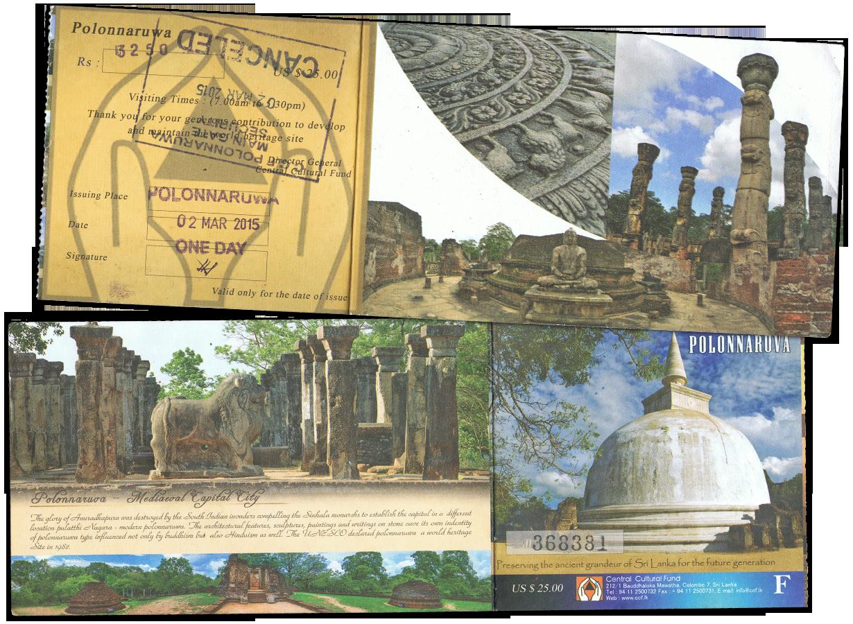 14 jours au sri lanka - polonnaruwa