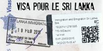 Visa voyage Sri Lanka - une