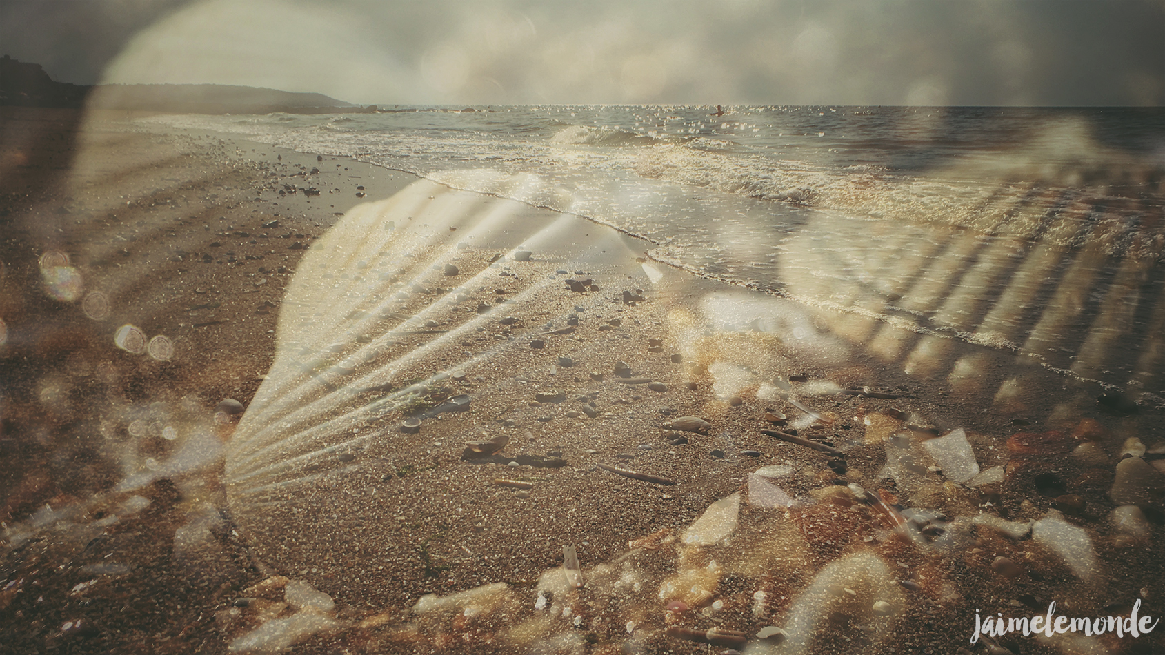 Pixter - Double exposition Snapseed - Blonville sur mer - ©jaimelemonde (1)