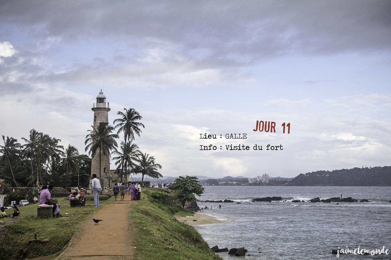 Voyage Sri Lanka - Itinéraire Jour 11 - 5 Galle - Visite du fort - ©jaimelemonde