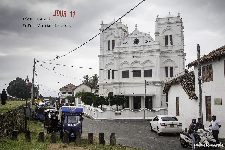 Voyage Sri Lanka - Itinéraire Jour 11 - 6 Galle - Visite du fort - ©jaimelemonde