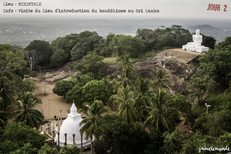 Voyage Sri Lanka - Itinéraire Jour 2 - 11 Mihintale - Visite des temples - ©jaimelemonde
