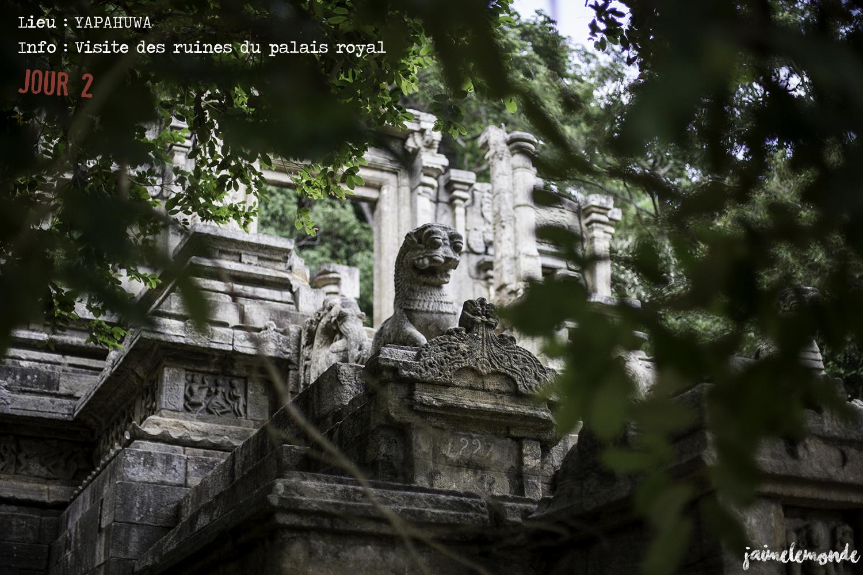 Voyage Sri Lanka - Itinéraire Jour 2 - 5 Yapahuwa - Visite des ruines - ©jaimelemonde
