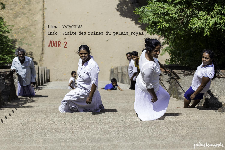 Voyage Sri Lanka - Itinéraire Jour 2 - 6 Yapahuwa - Visite des ruines - ©jaimelemonde
