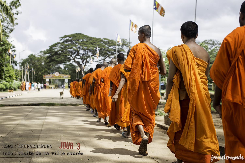 Voyage Sri Lanka - Itinéraire Jour 3 - 6 Anuradhapura - Ambiance locale - ©jaimelemonde