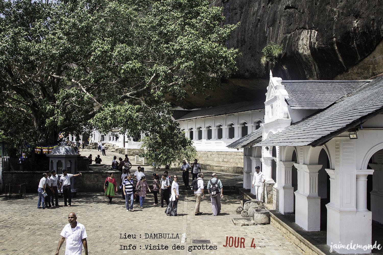 Voyage Sri Lanka - Itinéraire Jour 4 - 1 Dambulla - Visite des grottes - ©jaimelemonde