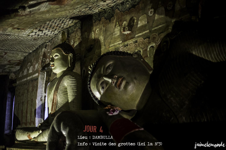 Voyage Sri Lanka - Itinéraire Jour 4 - 4 Dambulla - Visite des grottes - ©jaimelemonde