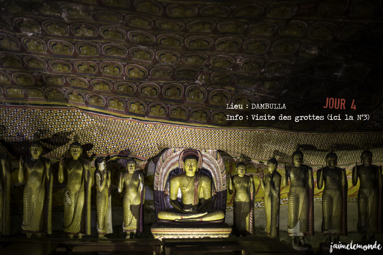Voyage Sri Lanka - Itinéraire Jour 4 - 5 Dambulla - Visite des grottes - ©jaimelemonde