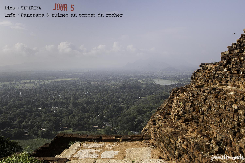 Voyage Sri Lanka - Itinéraire Jour 5 - 6 Sigriya - Visite des ruines - ©jaimelemonde