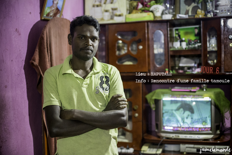 Voyage Sri Lanka - Itinéraire Jour 8 - 7 Haputale - Rencontre d'une famille tamoule - ©jaimelemonde