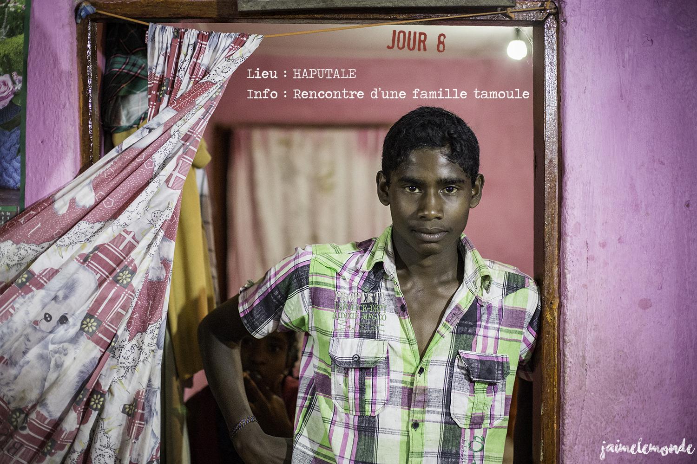 Voyage Sri Lanka - Itinéraire Jour 8 - 8 Haputale - Rencontre d'une famille tamoule - ©jaimelemonde