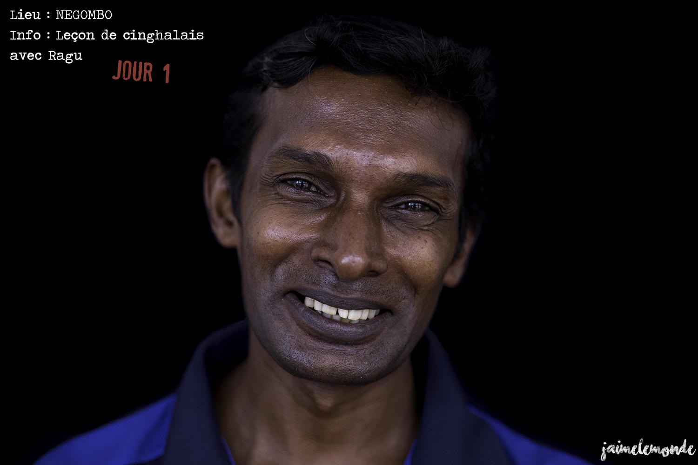 Voyage Sri Lanka - Itinéraire Jour 1 - 1 Negombo - Leçon cinghalais - ©jaimelemonde