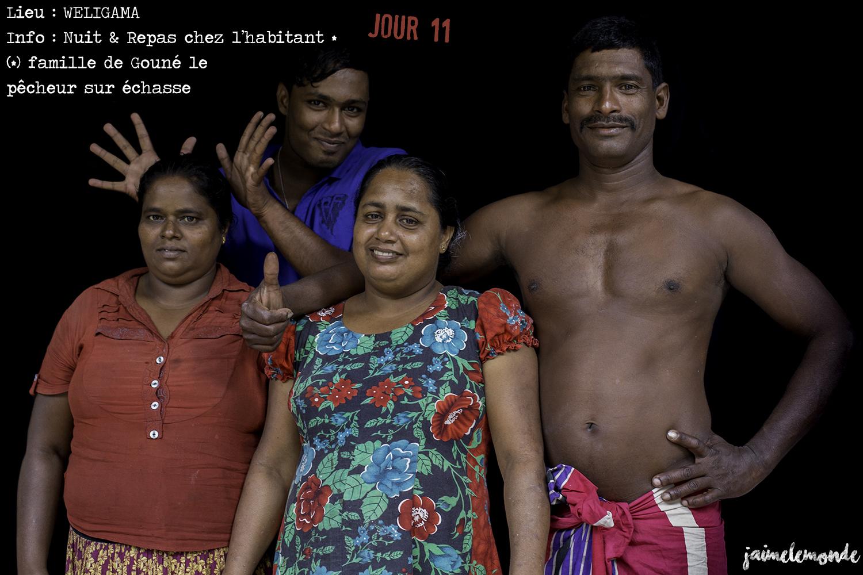 Voyage Sri Lanka - Itinéraire Jour 11 - 1 Weligama - Repas et nuit chez l'habitant - ©jaimelemonde