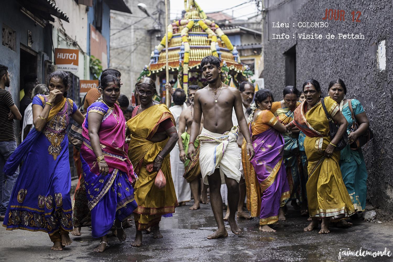Voyage Sri Lanka - Itinéraire Jour 12 - 6 Colombo - Visite de Pettah - ©jaimelemonde