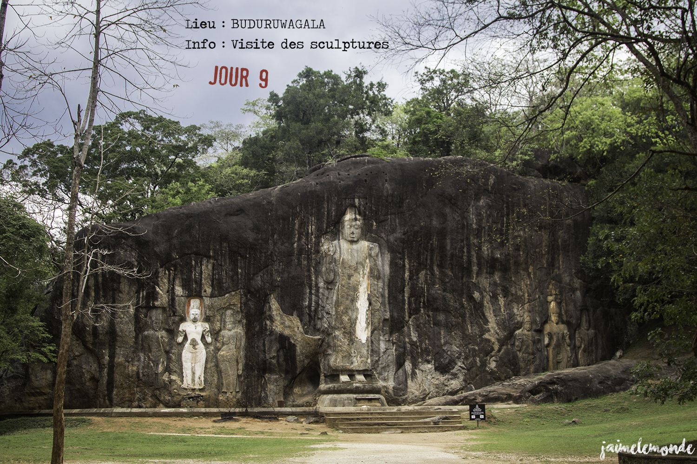 Voyage Sri Lanka - Itinéraire Jour 9 - 1 Buduruwagala - Visite des scultptures - ©jaimelemonde