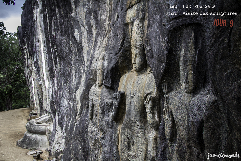 Voyage Sri Lanka - Itinéraire Jour 9 - 2 Buduruwagala - Visite des scultptures - ©jaimelemonde