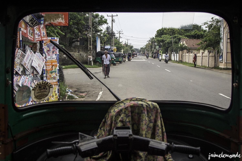 Voyage Sri Lanka - Transport - Tuk tuk - ©jaimelemonde