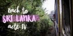 mon 4ème voyage au sri lanka