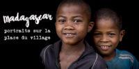 Studio photo improvisé dans un village malgache !