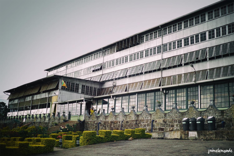 usine de thé Lipton's seat